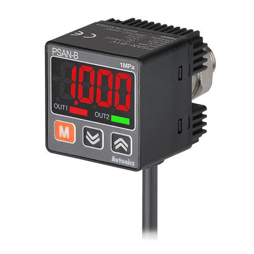 digital pressure sensor / relative / with analog output / compact