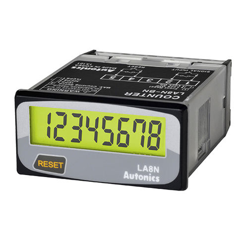 time counter / digital / compact / panel-mount