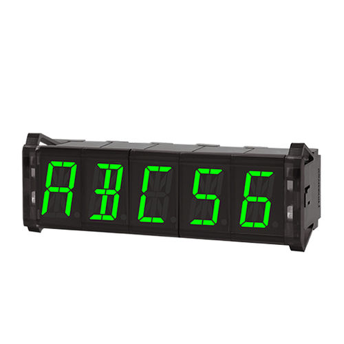 smart display / LED / 7-segment / 16-segment
