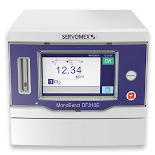 Oxygen analyzer / gas / concentration / benchtop MonoExact DF310E SERVOMEX
