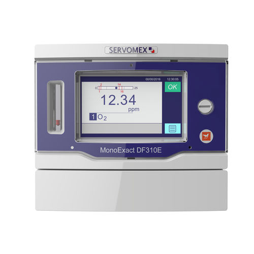 gas analyzer / oxygen / hydrogen / trace