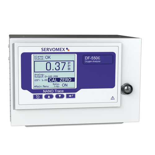 oxygen analyzer / trace / portable / monitoring