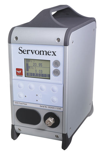 Oxygen analyzer / carbon dioxide / gas / concentration MiniFoodPack 5200 SERVOMEX