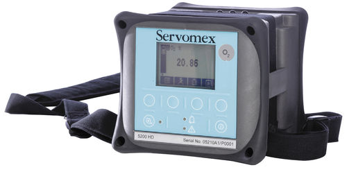 Oxygen analyzer / carbon dioxide / carbon monoxide / gas MiniHD 5200 SERVOMEX