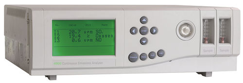 Sulfur analyzer / methane / oxygen / carbon dioxide 4900 SERVOMEX