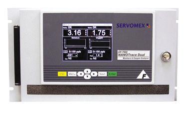 Oxygen analyzer / hydrogen / trace / moisture DF-760E NanoTrace SERVOMEX
