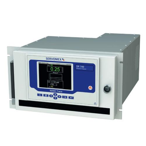 Nitrogen analyzer / oxygen / hydrogen / trace DF-749 NanoTrace SERVOMEX