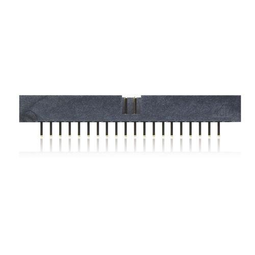 female pin header / double-row / through-hole / 2.00 mm (0.079