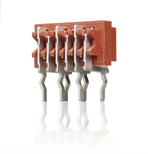 female pin header / single-row / through-hole / 1.27 mm (0.050