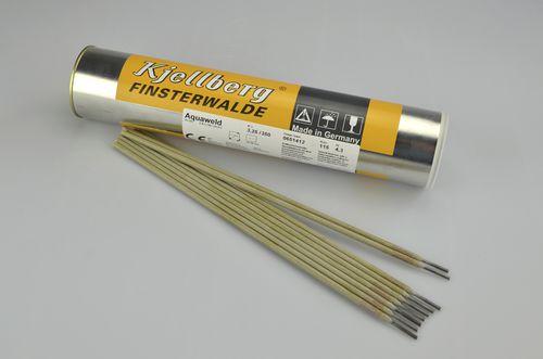 Wrapped welding electrode / rod / for wet welding / DIN 2302 AQUAWELD Kjellberg Finsterwalde