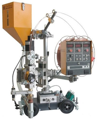 Submerged arc welding machine KA 7-UPP Kjellberg Finsterwalde