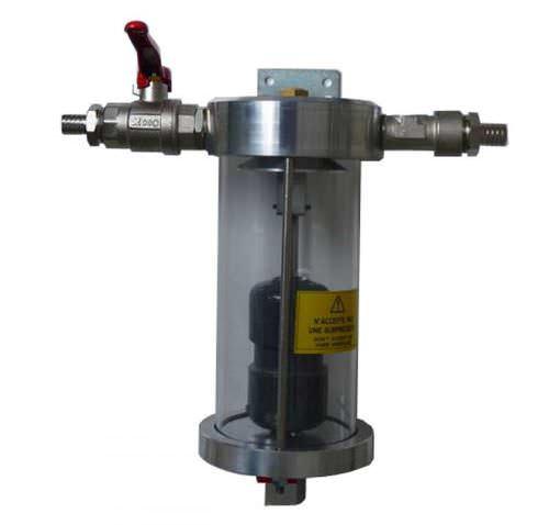 air separator / liquid / gas / vertical