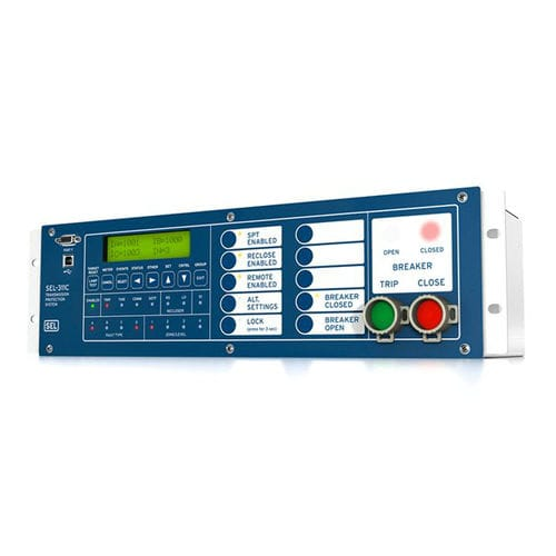 voltage protection relay / for recloser control / transmission line