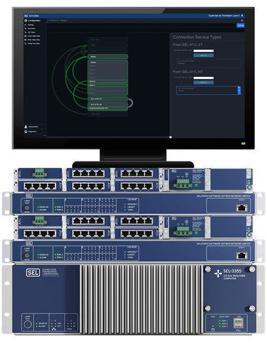 web-managed network switch - Schweitzer Engineering Laboratories