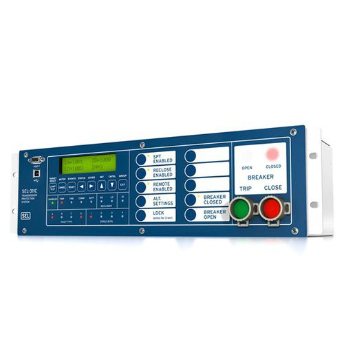 digital protection relay / voltage / programmable / configurable