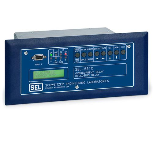 Over-current protection relay / digital / configurable / adjustable SEL-551C Schweitzer Engineering Laboratories