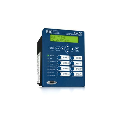 Arc flash protection relay / panel-mount / digital / programmable SEL-710-5 Schweitzer Engineering Laboratories