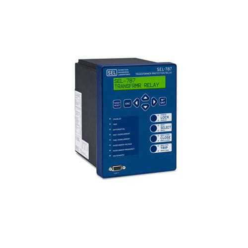Voltage protection relay / panel-mount / digital / three-phase SEL-787 Schweitzer Engineering Laboratories