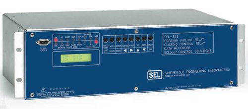 Phase control relay / digital / programmable SEL-352 Schweitzer Engineering Laboratories