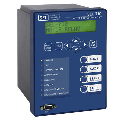 Under-voltage protection relay / arc flash / over-current / programmable SEL-710 Schweitzer Engineering Laboratories