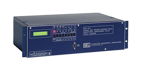 Phase monitoring relay / distance / over-current / programmable SEL-321-5 Schweitzer Engineering Laboratories