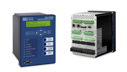 Synchronizing monitoring relay / digital / multifunction / panel-mount SEL-700G Schweitzer Engineering Laboratories