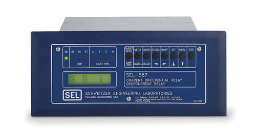 Over-current protection relay / panel-mount / digital / differential SEL-587  Schweitzer Engineering Laboratories
