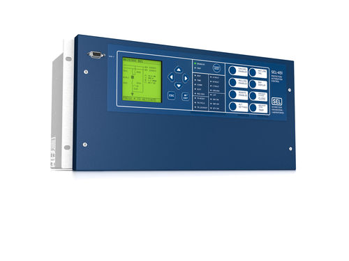 Over-current protection relay / over-voltage / digital / programmable SEL-451 Schweitzer Engineering Laboratories