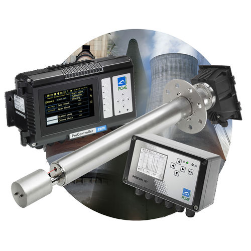 particle analyzer / for integration / continuous / rugged