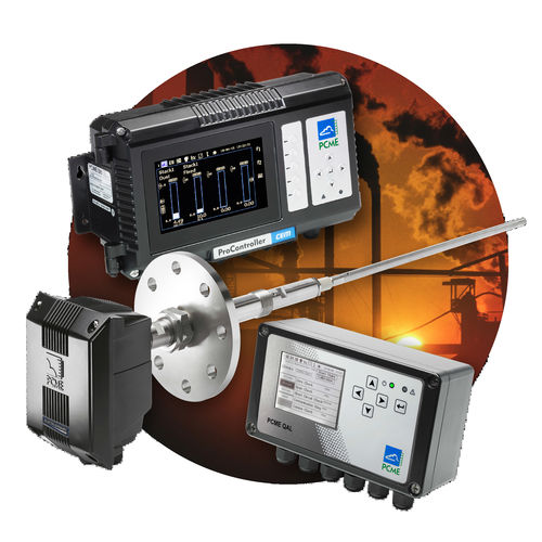 particle monitoring system / (CEMS) continuous emission