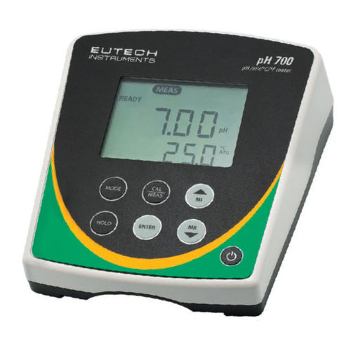 bench-top pH meter / laboratory / with LCD display