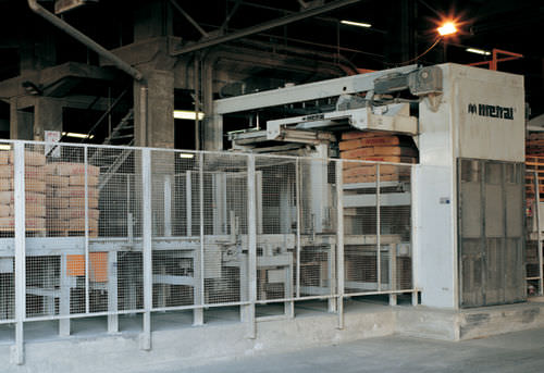 layer palletizer / bag / automatic / high-speed