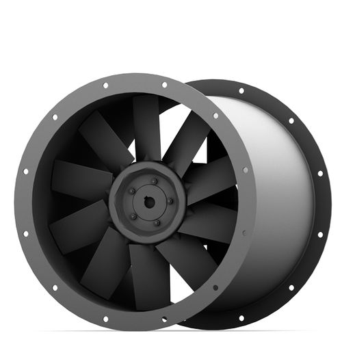 axial fan / for air circulation / ventilation / low-pressure