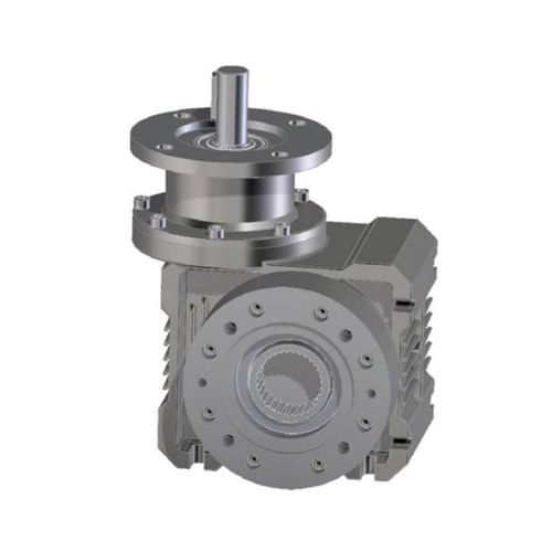 worm gear reducer / orthogonal / precision / compact