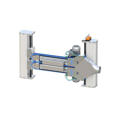 brush cleaning system / automated / for surface treatment / process