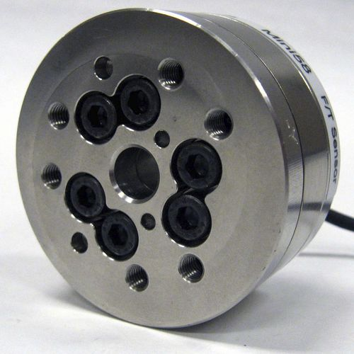 torque load cell / pancake type / compact / stainless steel