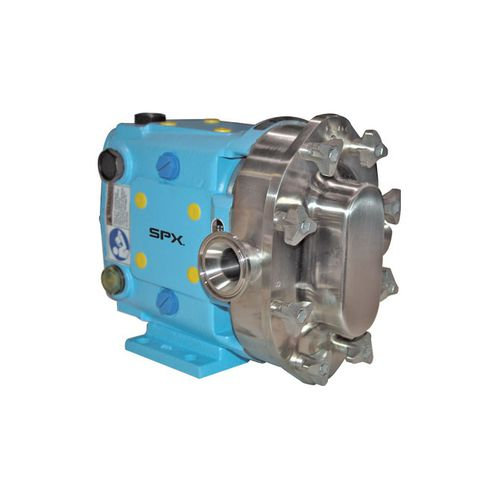 food product pump / hydraulically-operated / normal priming / industrial