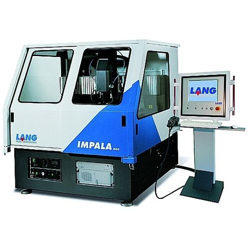 Plastic engraving machine / milling / CNC / three-axis 6 m/min, 800 x 800 x 200 mm | Impala 800 LNC LANG