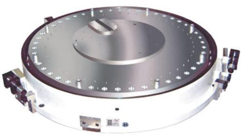 Horizontal rotary table / for machine tools / direct-drive max. 500 rpm | DA series FTW - Fertigungstechnik Weißenfels GmbH