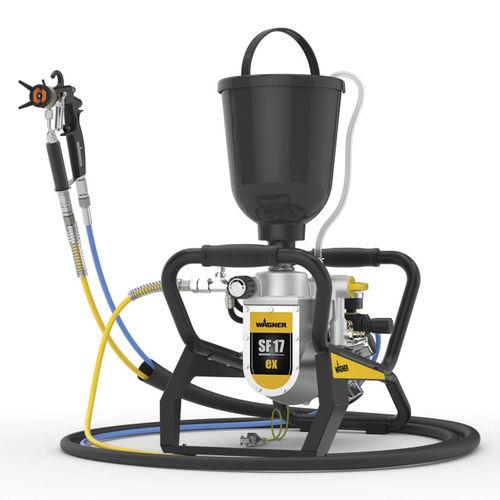 paint pump / pneumatic / normal priming / diaphragm