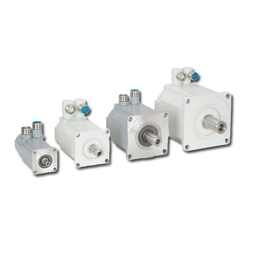 AC servomotor / two-phase / food / permanent magnet