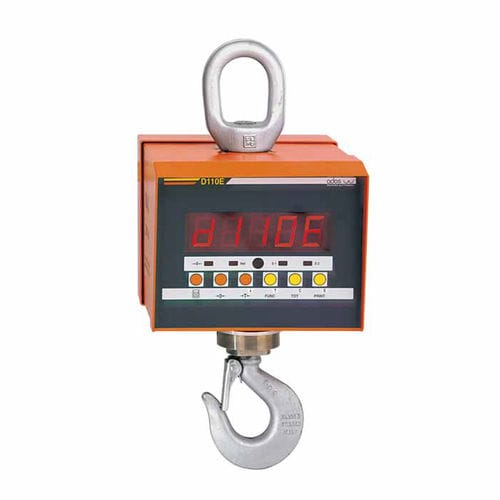 crane scale with LED display / with rechargeable battery