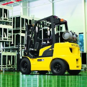 LPG forklift / ride-on / counterbalanced / handling 25L-7A Hyundai Heavy Industries Europe