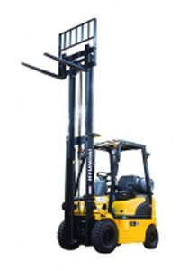Forklift / combustion engine / LPG / ride-on / 4-wheel 33L-7A Hyundai Heavy Industries Europe