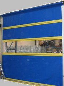 roll-up door / for the food industry / industrial / high-speed