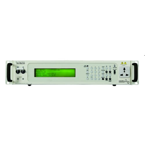 AC/AC power supply / with built-in PFC / rack-mount / power source 1.8 kVA | ACX series Pacific Power Source