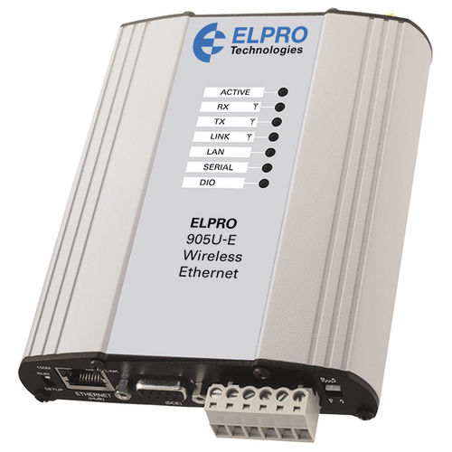 IP modem / Ethernet / RS232 / wireless