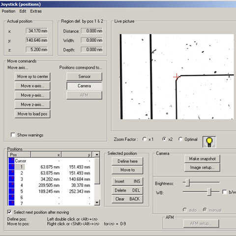 data acquisition software / multi-sensor metrology / for surface inspection