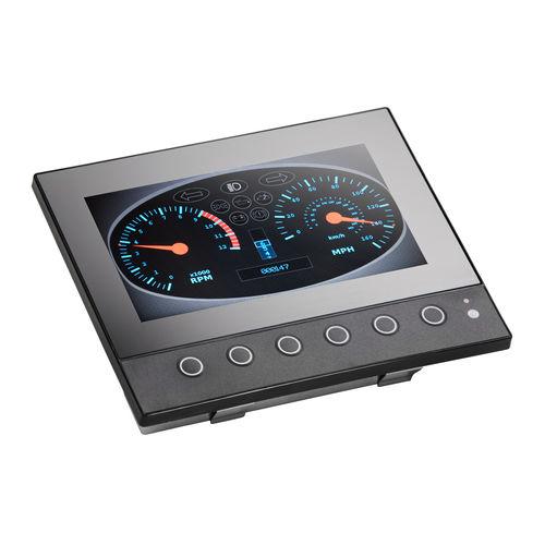 TFT screen / 800 x 480 / VESA mounting / compact