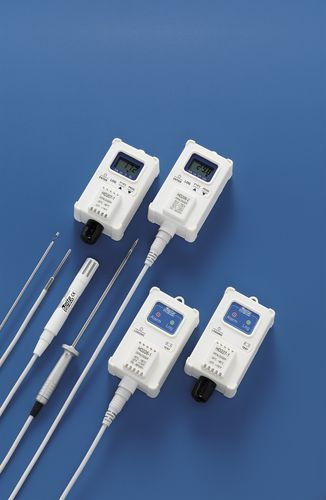 temperature data-logger / relative humidity / RS-232C / with LCD display